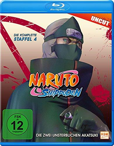 Naruto Shippuden, Staffel 4: Die Zwei Unsterblichen Akatsuki (Episoden 292-308, uncut) [Blu-ray] (Naruto Shippuden Anime)