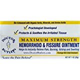 Doctor Butler's Haemorrhoid & Fissure Ointment...FDA Approved Pain Relief & Healing Formula (also contains Organic Herbs, Minerals and Amino Acids)