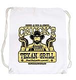 Certified Freak Chuck´s Grill Gymsack White
