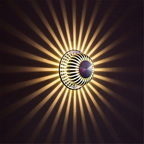 Moderne Kreative Kleine Wandleuchte Schlafzimmer Nacht Gang Gang Treppenhaus Aluminium LED Wandleuchte Leuchte Bar Cafe Club Billard Zimmer Farbe Innen Außenleuchte Spiegel Lampe Dekoration Licht,A