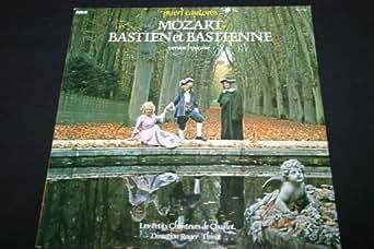 """Bastien et Bastienne - Version Française - Pueri Cantores / LP 33T 12"""" (1976)"""