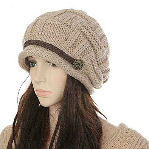 TGSKBD Gorra de urinario cálido de Invierno Mdedrwe para Mujer