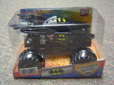 Cast Grave Digger 30th Anniversary 2012 Edition Batman Monster Truck by MATTEL ()