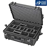 TAF CASE TAF Case 501M CAM - Outdoor Kamera-Trolley-Koffer Staub-und wasserdicht, IP67 schwarz