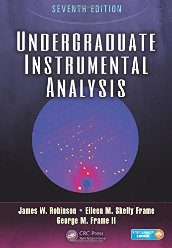 Undergraduate Instrumental Analysis, Seventh Edition