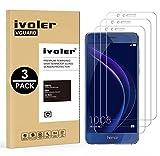 ivoler [3 Pack] Pellicola Vetro Temperato per Huawei Honor 8 [Garanzia a Vita], Pellicola Protettiva, Protezione per Schermo