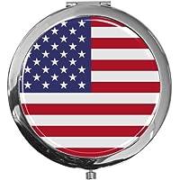 """metALUm - Extragroße Pillendose in runder Form""""Flagge USA"""" preisvergleich bei billige-tabletten.eu"""