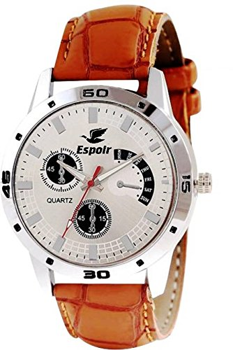 Espoir Analog White Dial Men's Watch - WCH-121  available at amazon for Rs.265