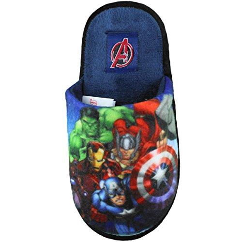 Pantoffel Avengers Junge Avengers Assemble Marineblau