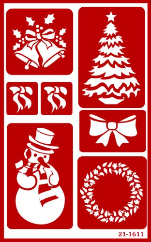 armour-etch-over-n-over-stencil-christmas