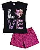 ThePyjamaFactory - Pijama - para niña negro negro 11-12 Años