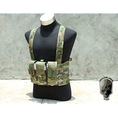 TMC M4 Chest Rig LE 6 Mag Multicam