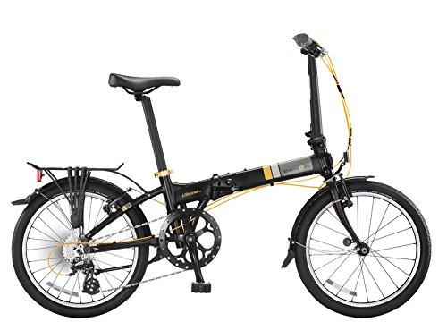 Dahon vitesse D8plegable bicicletas, negro,...