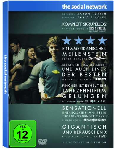 The Social Network-2 Disc Collector's Editio