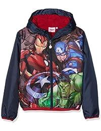 Marvel Avengers Classic, Chaqueta Impermeable para Niños