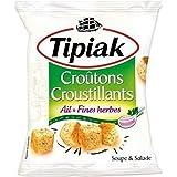 Tipiak croutons salade ail et fines herbes 100 g (Prix Par Unité) Envoi Rapide Et Soignée