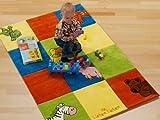 Kinder Teppich Die Lieben Sieben bunt - Die Lieben Sieben Teppich - Öko-Tex zertifiziert, Größe: 80x150 cm