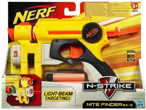 Hasbro - Nerf 28419148 - N-Strike Nitefinder EX-3