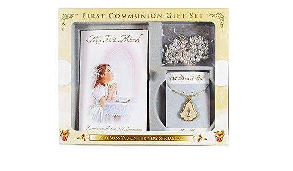 Kommunion Rosenkranz Kommuniongeschenk Erstkommunion Geschenkset