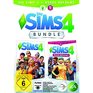 Die Sims 4 – Werde Berühmt Bundle (Code in der Box) – [PC]