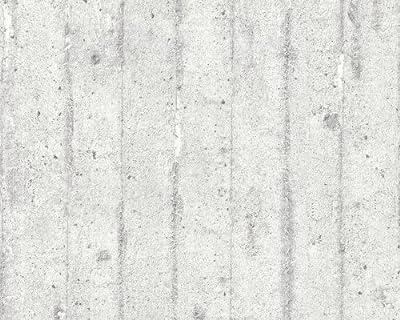 A.S Creation 713711 Tapete Wood`n Stone, Mustertapete in Betonoptik von As Cration bei TapetenShop