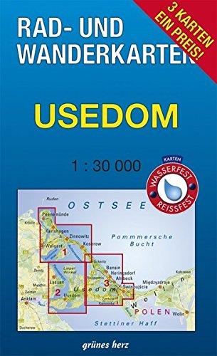Rad- und Wanderkarten-Set: Usedom: Mit den Karten: