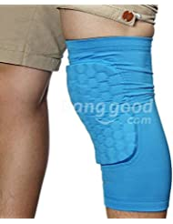 PhilMat multicolor combate rodilla pantorrilla cojín protector apoyo de la manga de la pierna protector