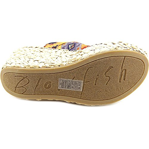 Blowfish Drapey Damen Textile Keilabsätze Sandale Rust Mecca