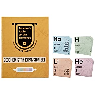 American Educational Geochemistry Expansion Set with Teachers Table of Elements