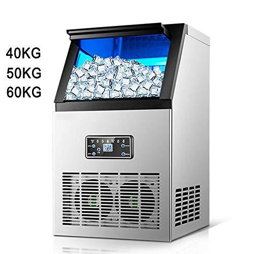 gogobest Cube Eismaschine Eismaschine Kleine Mechanische Eishockey-Maschine Milchtee-Bar Kaffeestube (Eis-maschinen-reiniger)