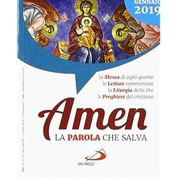 Amen. La Parola Che Salva. Gennaio 2019 (2019)