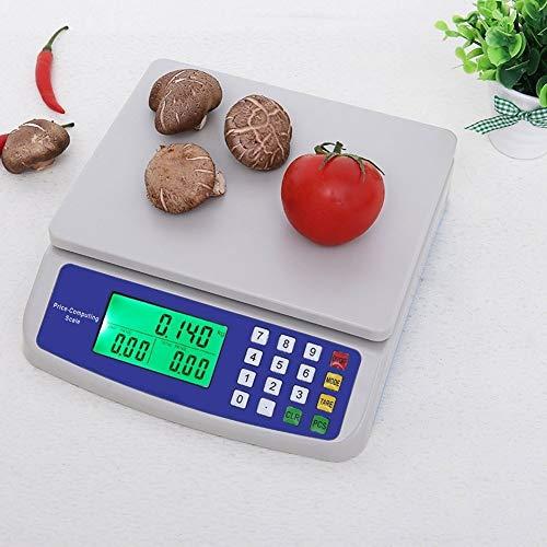 ZCXBHD 30kg / 1g Digital Cocina Peso Escamas, LCD Precisión Electrónico Precio Informática Comercial...