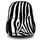 Luxburg Design Rucksack Multifunktionsrucksack Ranzen Schulranzen Sporttasche Backpack, Motiv: Zebra