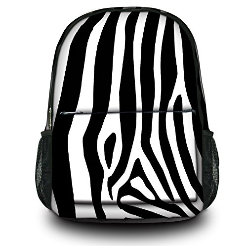 Luxburg® Design Rucksack Multifunktionsrucksack Ranzen Schulranzen Sporttasche Backpack, Motiv: Zebra