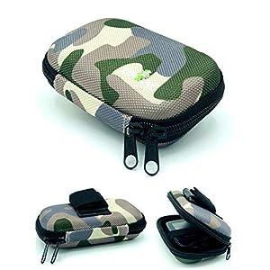 51mvaz76rjL. SS300  - Tasche Hardcase für Freestyle Libre Messgerät 1 & 2, Gürteltasche Blutzuckermessgerät, Diabetikertasche Camouflage Tarnfleck ZENXEAY