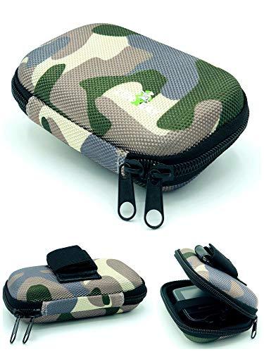 51mvaz76rjL - Tasche Hardcase für Freestyle Libre Messgerät 1 & 2, Gürteltasche Blutzuckermessgerät, Diabetikertasche Camouflage Tarnfleck ZENXEAY