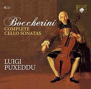 Boccherini - Complete Cello Sonatas [4 CD Set]
