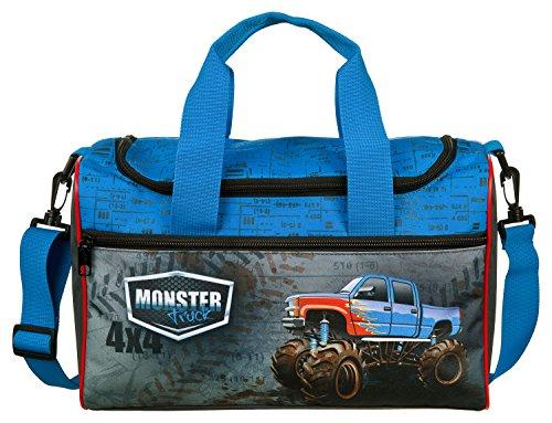Scooli MTQJ7252 Sporttasche Monster Trucks, ca. 35 x 16 x 24 cm (Monster Trucks Für Kleinkinder)
