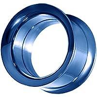 un tunnel à doppia sedia evasée individuellement insieme ou acier inoxydable bouchon in Tunnelset 2 à 22 millimetri