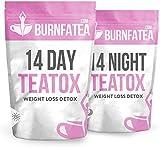 Burnfatea 14 Day Detox Tea Set (NO LAXATIVE EFFECT, Weight LossTea, Detox Tea, Slimming, Diet Tea)