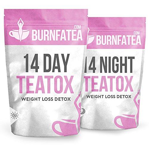 Burnfatea-14-Day-Teatox-Set-NO-LAXATIVE-EFFECT-Weight-Loss-Tea-Detox-Tea-Slimming-Diet-Tea