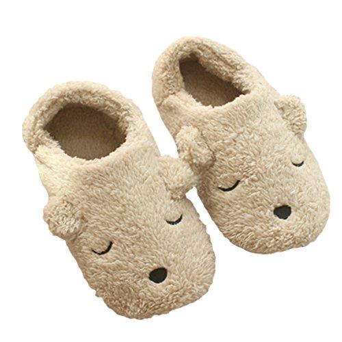 Para Mujer Zapatillas de Forro Polar