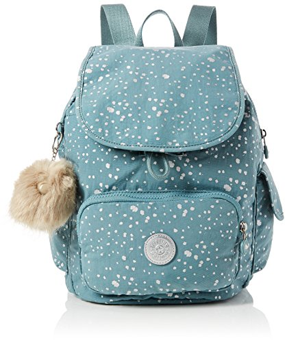 Kipling City Pack S, Women's Backpack, Blue (Silver Sky), 19x27x33.5 Cm (B X H T)