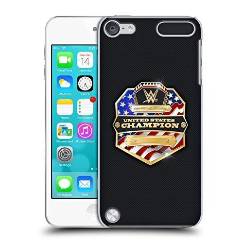 Ufficiale WWE United States Champion Fascia Della Vittoria Cover Retro Rigida per iPod Touch 5th Gen / 6th Gen