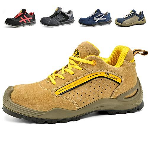 Zapatos de Seguridad Deportivos para Hombres - 7296Y Calzados de Seguridad Trabajo...