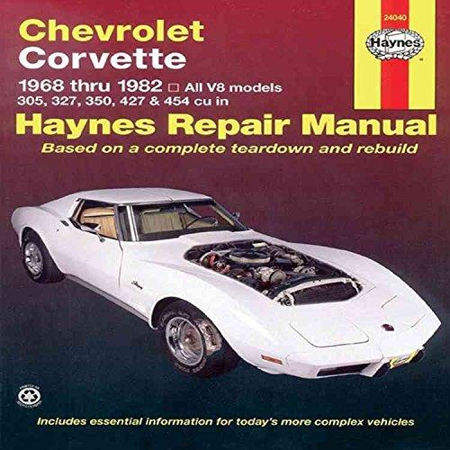 chevrolet-corvette-1968-82-automotive-repair-manual-by-j-h-haynes-published-july-1999