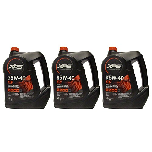 Sea Doo 4 Tec CanAM BRP XPS 4 Stroke Summer Grade Engine Oil 3 Gallons  293600122
