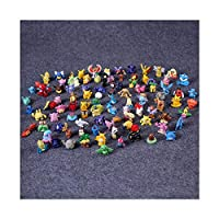 Pokemon Mini Battle Action Figures Complete Party Set 97 Characters