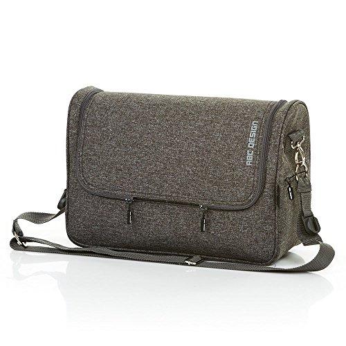 Preisvergleich Produktbild ABC Design 91299703Changing Bag Track Wickeltasche, Grau