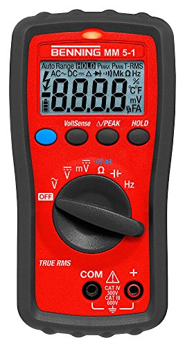 Benning 044070 MM 5-1 TRMS-Digital-Multimeter